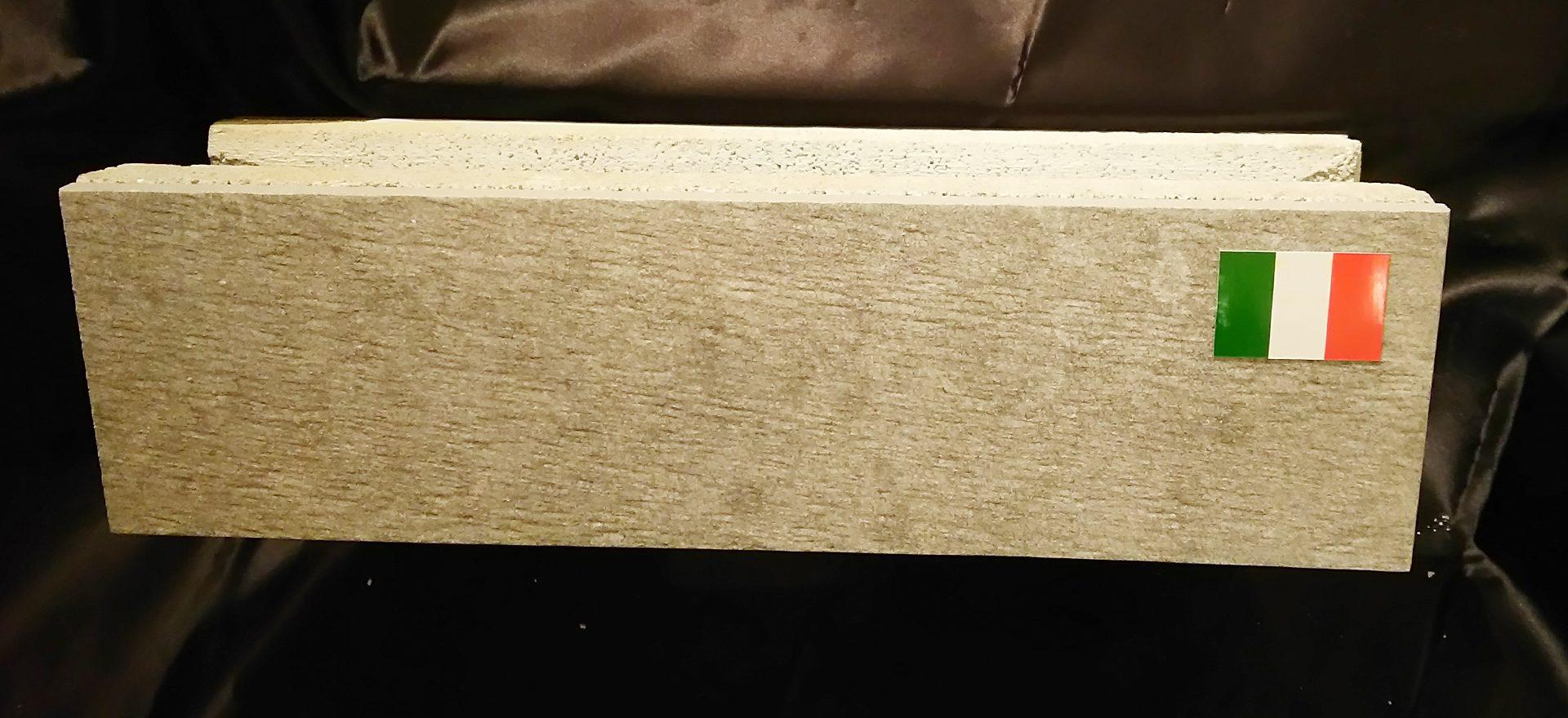 イタリア製化粧ブロックタイル木目